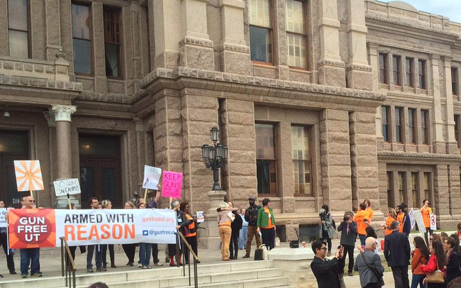 Austin Campus Carry Protest